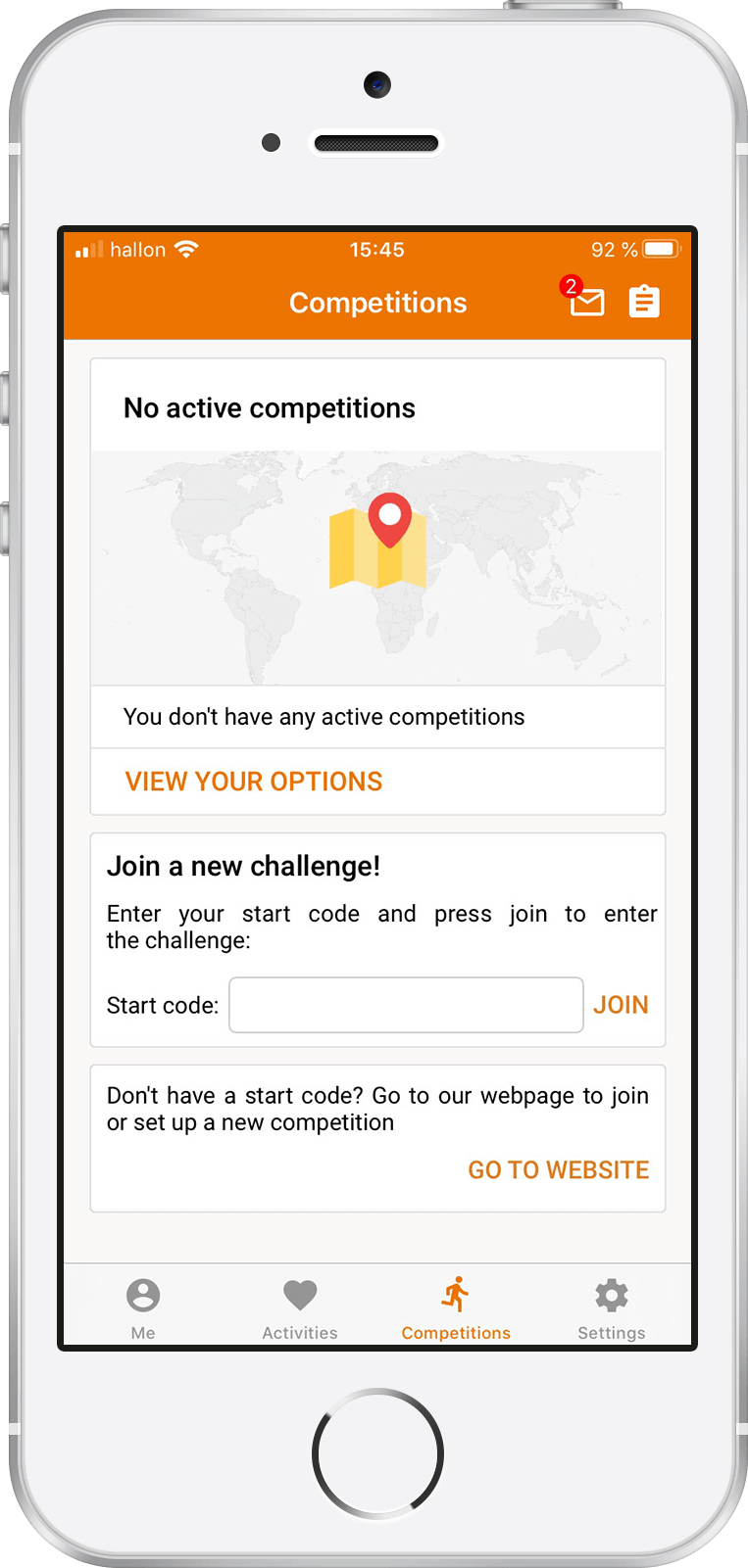 Tappa app - Join competition